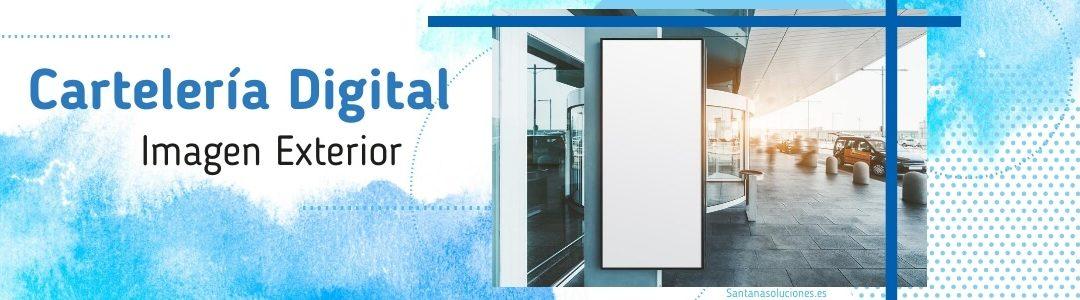 Carteleria digital exterior